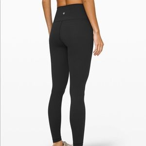 Lululemon wunder under tights sz 6